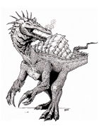 Scott Harshbarger Presents: Spiny Dragon