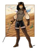 Scott Harshbarger Presents: Catwoman Fencer