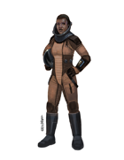 Eric Lofgren Presents: Female Space Pilot 2