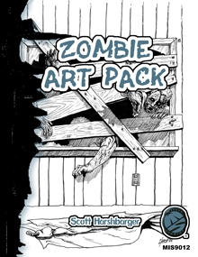 Scott Harshbarger Presents Zombie Art Pack