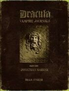 The Dracula Vampire Journals Part One - Jonathan Harker (1of2)