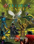 Anthro-Adventures Coloring Book