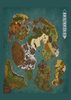 Confluence World Map Poster
