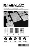 Kosmostrom Science Fiction Floorplan System Set 1