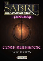 The Sabre RPG Fantasy Basic Edition