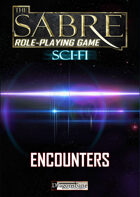 The Sabre RPG Scifi Encounters