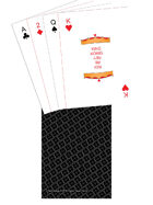 Poker Deck - TTC back - Black