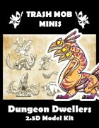 Dungeon Dwellers: 2.5D Model Kit