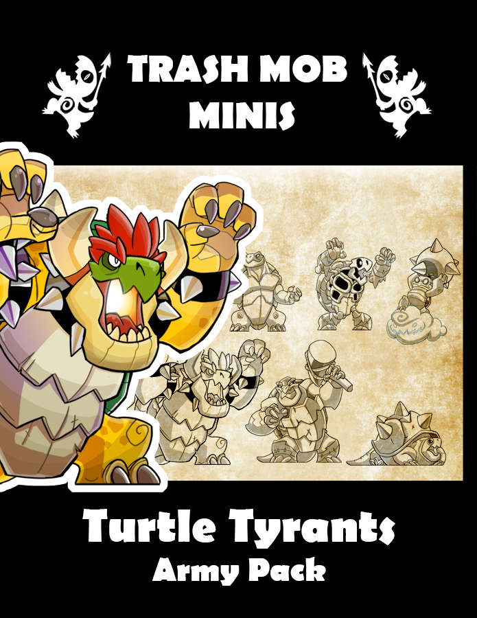 Turtle Tyrants: Army Pack
