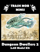 Dungeon Dwellers 2: 2.5D Model Kit