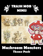 Mushroom Monsters: Theme Pack
