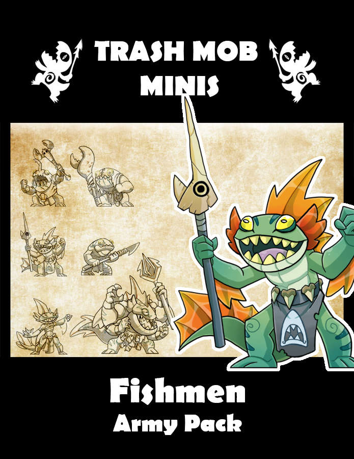 Fishmen: Army Pack
