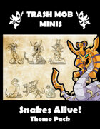 Snakes Alive! Theme Pack