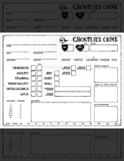 Ghostlike Crime Character Sheet