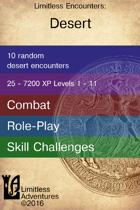 Ten Desert Encounters