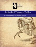 Individual Treasure Table