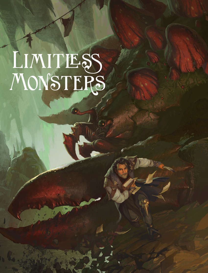 Limitless monsters limitless adventures for Monster advanced search