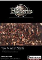 Ten Market Stalls