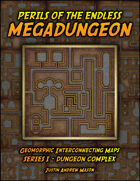 Perils of the Endless Megadungeon - Series I: Dungeon Complex (24 VTT Maps)