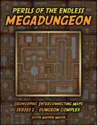 Perils of the Endless Megadungeon - Series I: Dungeon Complex (24 VTT Maps)