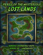 Perils of the Mysterious Lost Lands - Series III: Landmasses (24 VTT Maps)