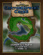 Cartographer's Cache #003: Ascension Isle & Highport: City of Airship Pirates