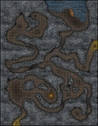 VTT Map Set - #002 Simple Cavern