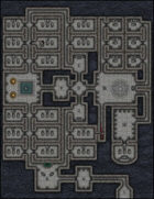 VTT Map Set - #003 Dark Crypt