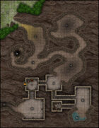 VTT Map Set - #004 Bandit Abode