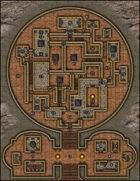 VTT Map Set - #017 Menagerie of the Keymaster