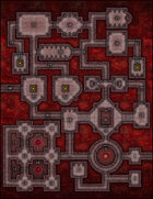 VTT Map Set - #024 The Ruby Keep