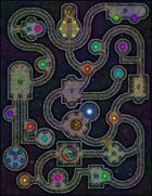 VTT Map Set - #025 Interplanar Astral Crossroads