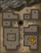 VTT Map Set - #026 Abandoned Desert Outpost