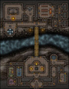 VTT Map Set - #027 Crossing at the Monk's Temple