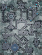 VTT Map Set - #035 The Diamond Keep