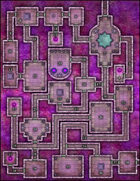 VTT Map Set - #047 The Amethyst Keep