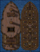 VTT Map Set - #052 The Smuggler's Ship
