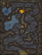 VTT Map Set - #054 Dragon's Lair