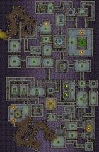 VTT Map Set - #058 Underworld Mega-Dungeon #1