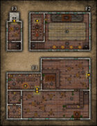 VTT Map Set - #062 The Shackled Shrew Tavern