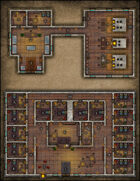 VTT Map Set - #066 City Bakery & Simple Inn