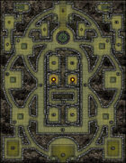 VTT Map Set - #067 The Ruins of Kura Kura Darat