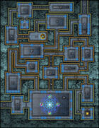 VTT Map Set - #070 Domain of the Extradimensional Lords