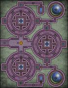 VTT Map Set - #071 Elven Hyaline Domes