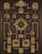 VTT Map Set - #072 Copper Golem Hold