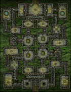 VTT Map Set - #073 Dungeon of the Deep Bog