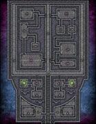 VTT Map Set - #080 The Neverlight Necropolis