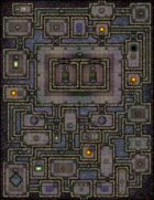 VTT Map Set - #100 Lair of the Archons