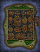 VTT Map Set - #107 The Abbot's Isle