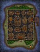 VTT Map Set - #107 The Abbot's Isle